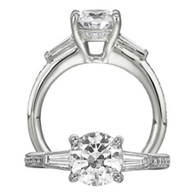 Lovely Classic Engagment Ring by Ritani