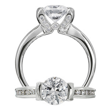 Ritani Diamond Classic Engagement Ring