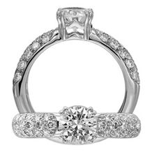 Exquisite Classic Engagement Ring by Ritani