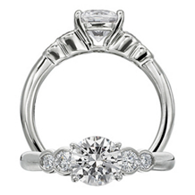 Elegant Ritani Classic Engagement Ring