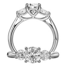 Stunning Ritani Classic Engagement Ring Collection Ring