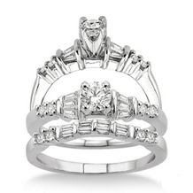 Elegant Complete Diamond Wedding Set