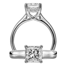 Princess Cut Classic Engagement Ring by Ritani