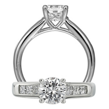 Ritani Classic Engagement Ring Collection Ring