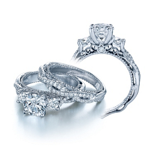 Elegant Verragio Venetian Collection Engagement Ring