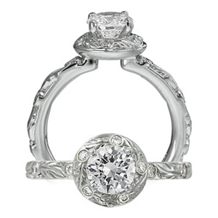 Ritani Romantique Diamond Engagement Ring