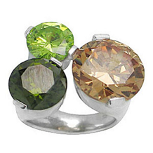 Belle Etoile Tres Chic Color Stone Ring