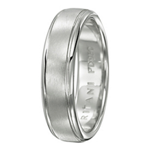 Classic Ritani Mens Wedding Band 6mm