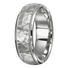 RItani 8mm Classic Mens Wedding Band