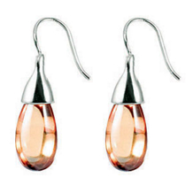 Belle Etoile Sugar Drop Color Stone Earrings
