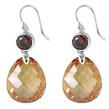 Belle Etoile Juliette Color Stone Earrings