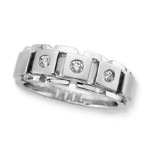 Dazzling Gents Diamond Ring