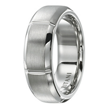 Mens 8mm Modern Collection Ritani Wedding Band