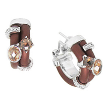 Belle Etoile Venezia Rubber Collection Earrings
