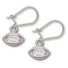 Stylish Penn State Football Earrings in Sterling Silver