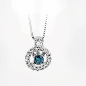 Blue Diamond Fashion Pendant