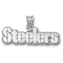Sterling Silver Pittsburgh Steelers 1/4 Inch Charm