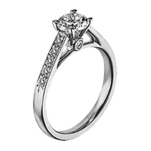 Contemporary Collection by Scott Kay Engagement Ring