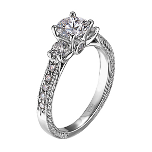 Scott Kay Vintage Collection Engagement Ring