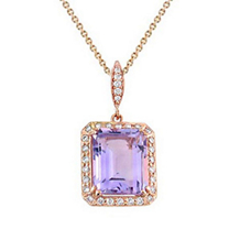 Madison Avenue Amethyst Necklace