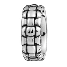 SK Cobalt Troy Collection Mens Wedding Band