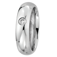 Scott Kay BioBlu 27 Cobalt Mens Wedding Band