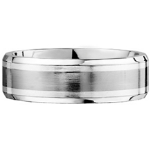 SK Cobalt Unity Collection 7mm Mens Wedding Band