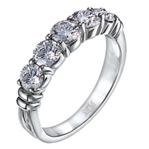 Gorgeous Contemporary Scott Kay Diamond Wedding Ring