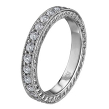 Vintage Collection Scott Kay Diamond Eternity Band
