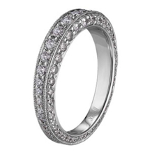 Contemporary Collection Diamond Eternity Band