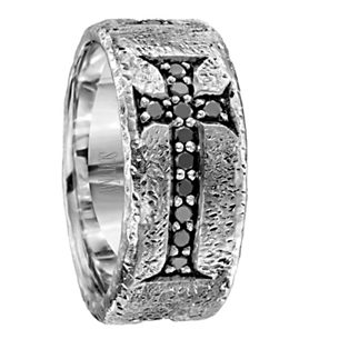Scott Kay BC Collection Black Diamond Band