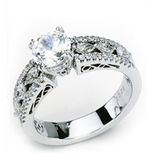 Fabulous Diamond Engagement Ring by Simon G