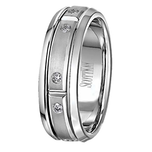 Scott Kay Diamond Javlin Collection Wedding Band