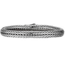 Scott Kay Sterling Silver Kodiak Straight Bracelet