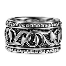 Scott Kay UnKaged Sparta Engraved Ring