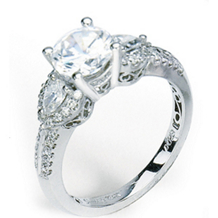 Simon G Semi-Mounting Diamond Ring
