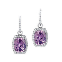 Amethyst Convertable Earrings