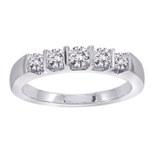 Gorgeous 1/4 Carat Diamond Anniversary Band