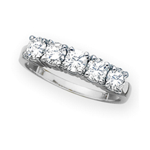 Gorgeous 1 Carat Diamond Anniversary Band