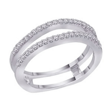 Alluring 1/2 Carat Diamond Bridal Ring Guard