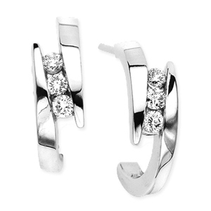 Fashionable Diamond Earrings