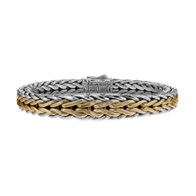 Scott Kay Doberman Tapered Two Tone Bracelet