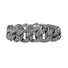 Sparta Engraved Bracelet by Scott Kay