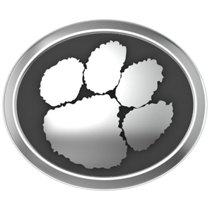 Clemson Licensed Individual Bead for Bead Bracelet