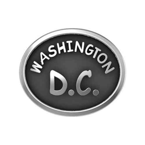 Washington DC Licensed Individual Bead for Bracelet