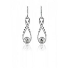 Stunning Simon G Diamond Drop Earrings