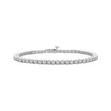3 Carat 4 Prong Diamond Bracelet