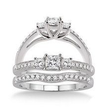 Complete 1/2 Carat Diamond Wedding Set