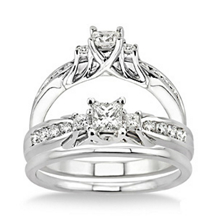 Alluring 1/2 Carat Diamond Wedding Set