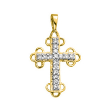 1/5 Carat Diamond Cross Pendant